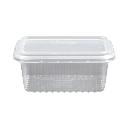 Pote 1000ml Tr Cristal Retg C/25 Freezer/micro