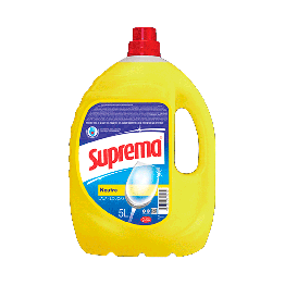 Detergente Liquido 5lt Suprema Neutro