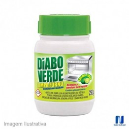 Limpa Fornos 250gr Limao Diabo Verde