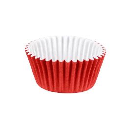 Forminha Papel 06 1,8x2x1,2 C/100. Vermelha Pc 10