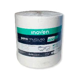 Pano Multi Uso 28cm Inoven C/600 Branco