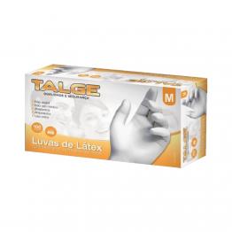 Luva Latex M Talge C/100 C/po