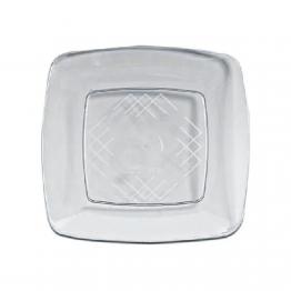 Prato 22 Acr Sert Plast Quad C/10. Cristal