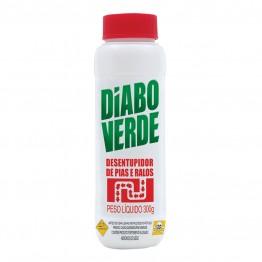 Desentupidor 300g Diabo Verde P/ Pias E Ralos