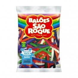 Balao Canudo C/50 Sao Roque Sortidos