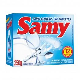 Lava Loucas Tablete Samy 250g P/ Maq