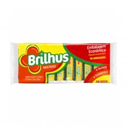 Esponja D Face Brilhus C/10