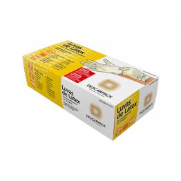 Luva Latex M Descarpack C/100 C/po