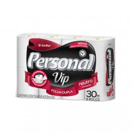 Papel Higiênico F.dupla Personal Vip C/8 Rl Pvc84 (64 Rolos)