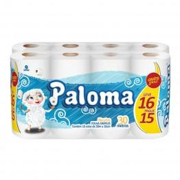 Papel Higiênico F.simples Paloma 64 Rolos L16/p15