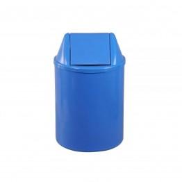 Cesto Lixo 50cm C/tp Vai-vem Eb12a Jsn 22lt Azul