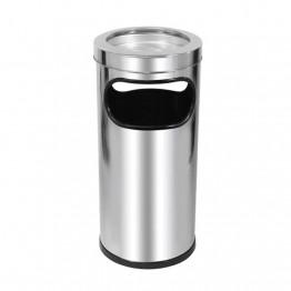 Cinzeiro Lixeira Aco Inox Jsn C2