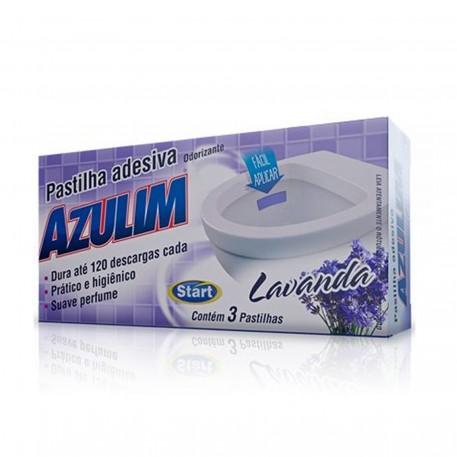 Pastilha Adesiva Azulim C/3un Lavanda