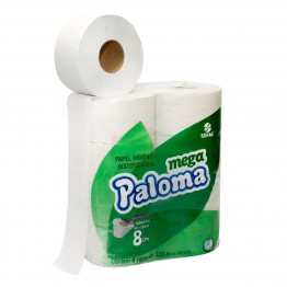 Papel Higiênico Rolao F.s 8x300 100% Paloma