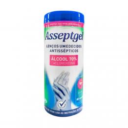 Lenco Umedecido C/alcool 70° C/40 Asseptgel