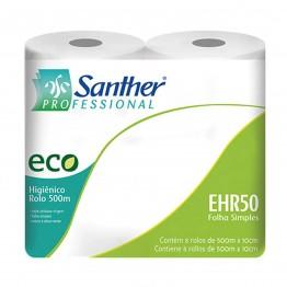 Papel Higiênico Rolao F.s 8x500 100% Santher Ehr50