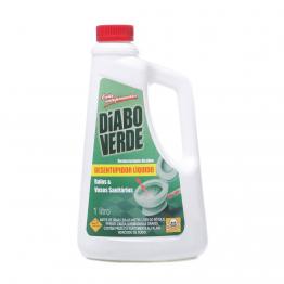 Desentupidor 1lt Diabo Verde P/ Ralos E Vaso Sn