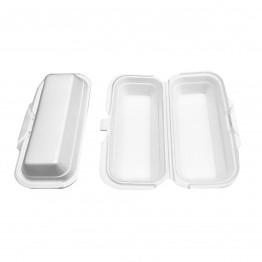 Estojo Isopor Totalplast Th004 C/100 Hot Dog 228x103 Fd 4