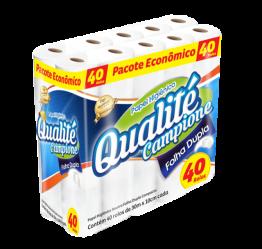 Papel Higiênico F.dupla Qualite C/40rl (80 Rolos)