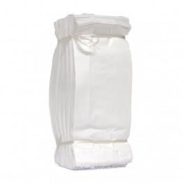 Saco Kraft 10k Branco Liso C/500
