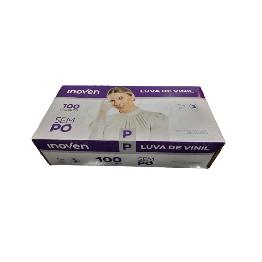Luva Vinil P Inoven S/po C/100