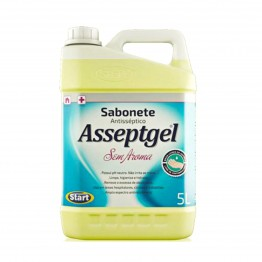 Sabonete Liq 5lt Asseptgel Start Bacgel S/aroma