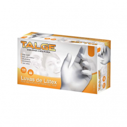 Luva Latex Pp Talge C/100 C/po
