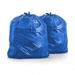 Saco Lixo 100l Utilix C/5 Al Az 75x105 Fd 25