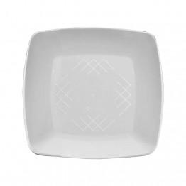 Prato 15 Acr Sert Plast Quad C/10 Branco
