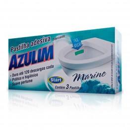 Pastilha Adesiva Azulim C/3un Marine