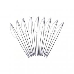 Faca Ref Sert Plast C/1000 Cristal