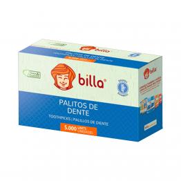 Palito Dental Billa Bambu Solto C/5000