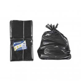 Saco Lixo 050l Easybag C/10 Pr Al C/alca 63x80cm