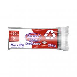 Saco Lixo 100l Embalixo C/15 Pr Rl