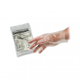 Luva Plastica Descart Descarpack C/100