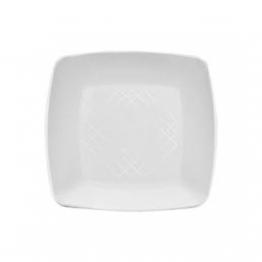 Prato 22 Acr Sert Plast Quad C/10 Branco