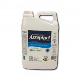 Alcool Gel 4,3kg Asseptgel Start Aloevera
