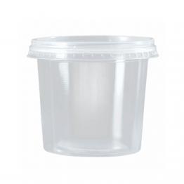 Pote 350ml Tr Cristal C/25 Kit