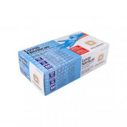 Luva Nitrilica G Descarpack C/100 Azul S/po