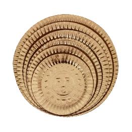 Prato Lam Dourado N.07 35cm C/10