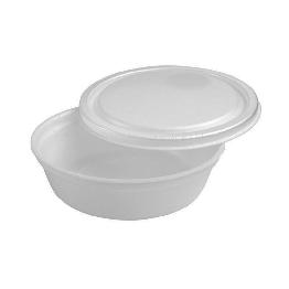 Marmitex Isopor 500ml R100 Darnel Fdo C/100 C/tp