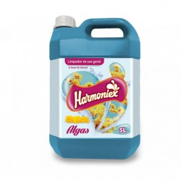 Limpador C/alcool Liq 5l Harmoniex Algas