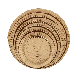 Prato Lam Dourado N.05 28cm C/10